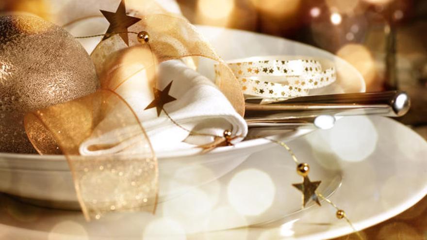 Llena de glamour tu mesa de Navidad
