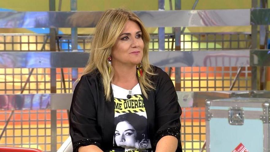 Polémica en Sálvame por el documental de Rocío Carrasco: la presentadora viguesa Carlota Corredera estalla en redes