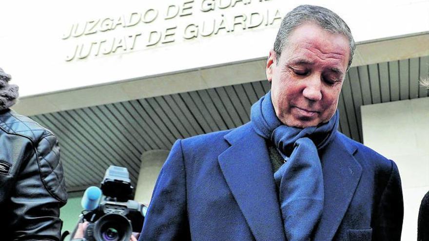 La Guàrdia Civil acredita un 'pelotazo' de Zaplana de 3,4 milions