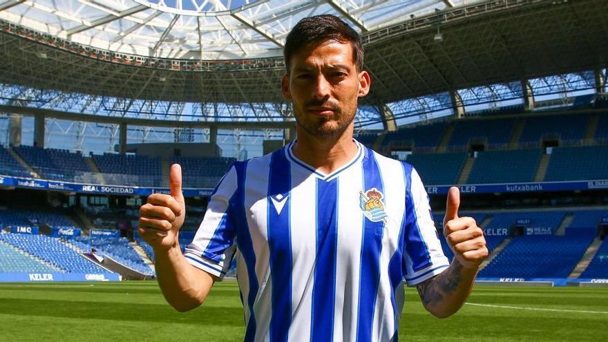 Silva supera el coronavirus y entrena con la Real Sociedad
