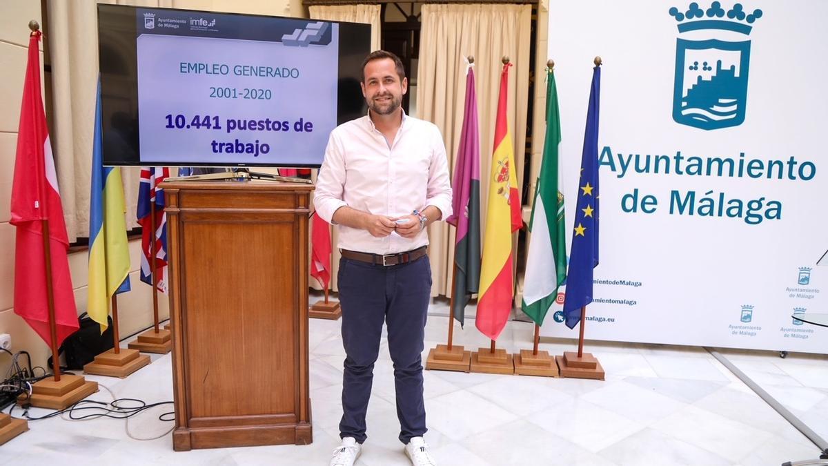 Luis Verde, concejal de Educación, Juventud y Fomento del Empleo
