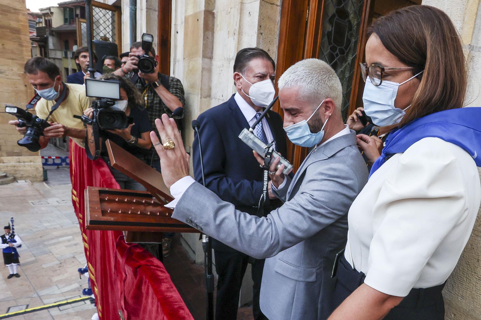 Pelayo Díaz marca el inicio de San Mateo con un pregón inclusivo