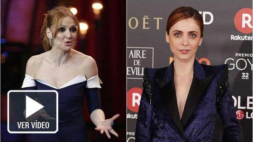 Cristina Castaño y Leticia Dolera protagonizan las pullas feministas de los Goya 2018