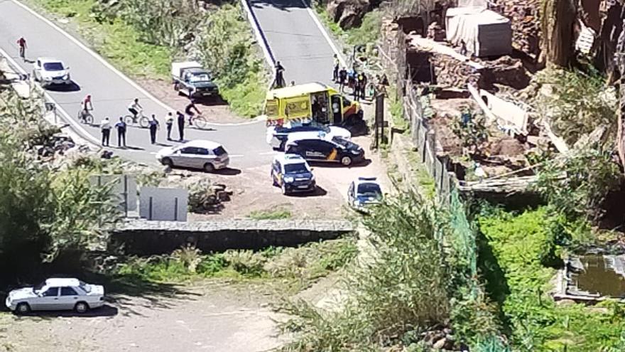 Un ciclista fallece en Gran Canaria tras sufrir una parada cardiorrespiratoria