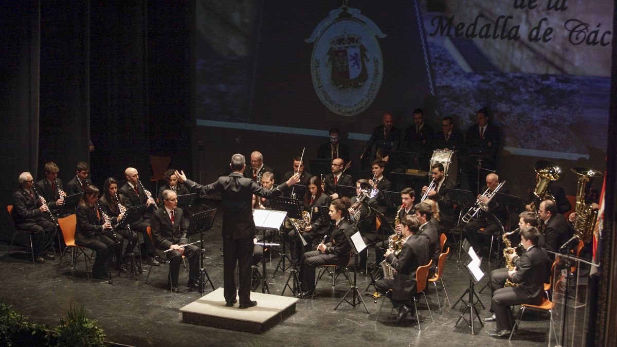 Banda Municipal de Música de Cáceres.