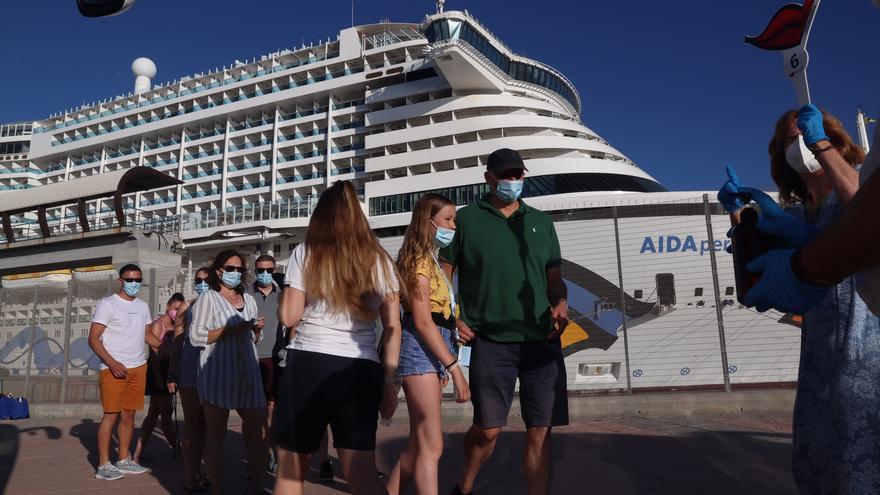 Málaga recibe este martes el primer crucero internacional tras 16 meses