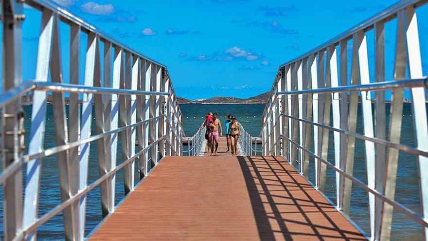 Los balnearios y el paseo de Los Urrutias, en marcha para 2021