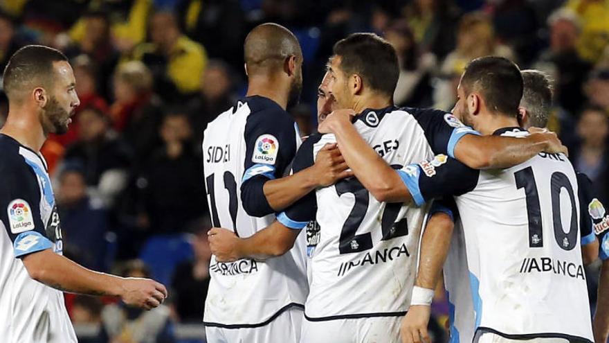 El Deportivo araña un punto en Las Palmas