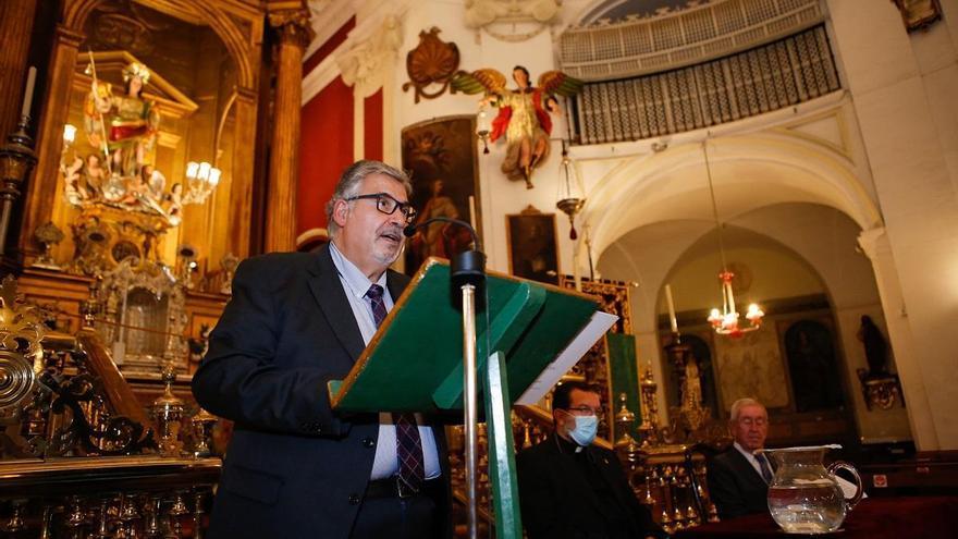 Antonio Capdevila exalta la figura del arcángel san Rafael