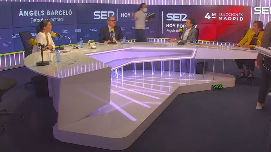 Iglesias abandona el debate de candidatos en la SER