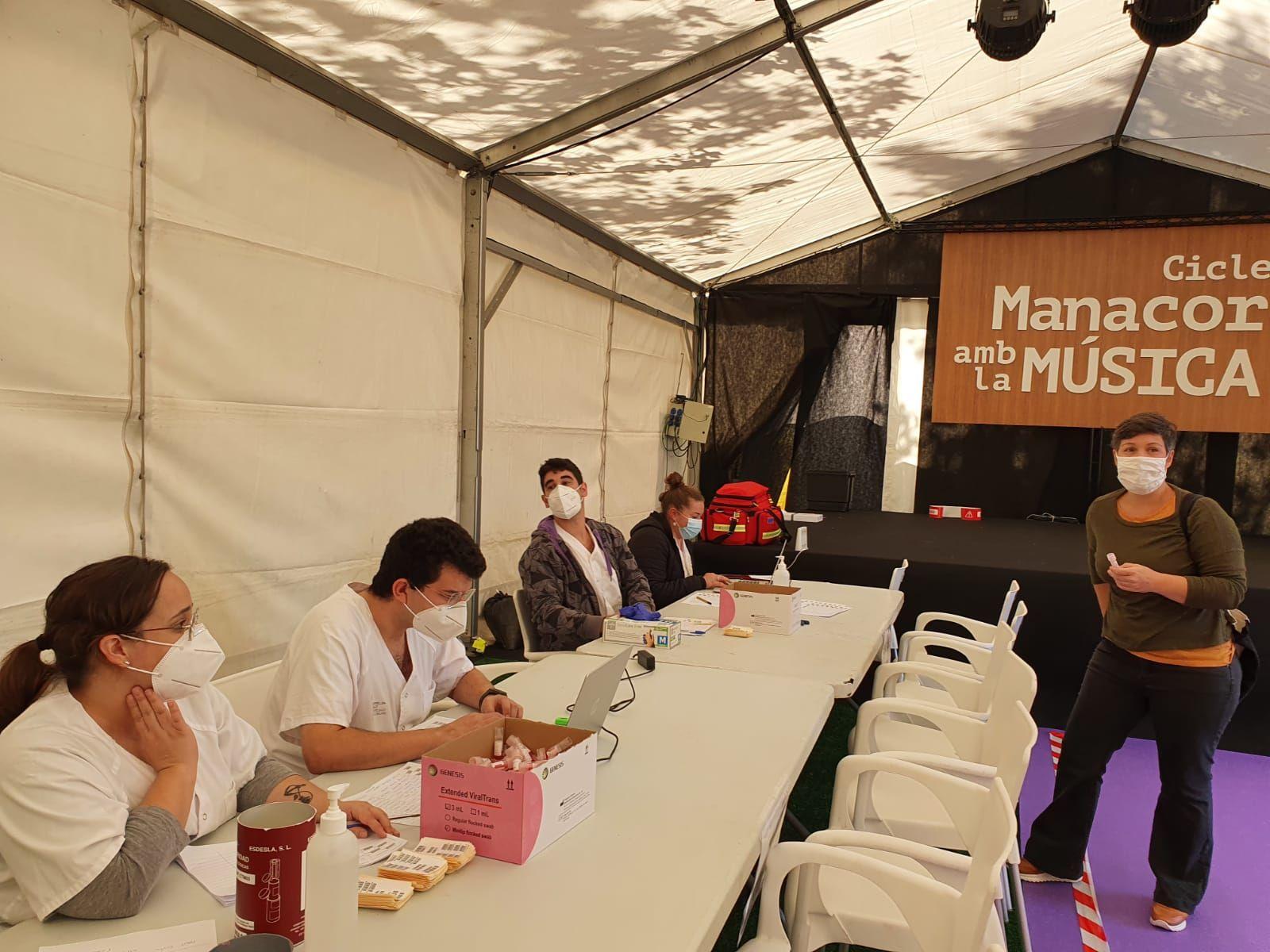 Empieza el cribado voluntario en Manacor por la alta incidencia de coronavirus