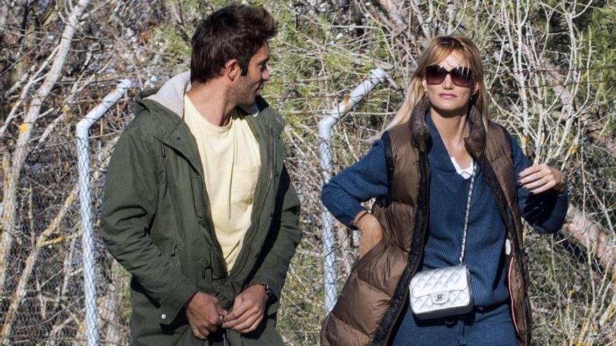 Alba Carrillo replica al piropo de Fonsi Nieto a su novio
