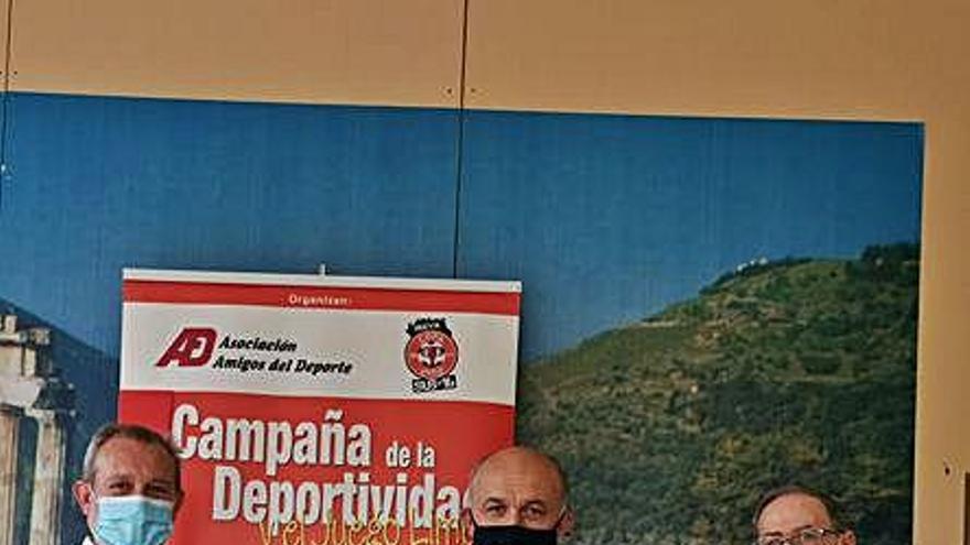 La Asociación Delfos Amigos del Deporte, que aplaza sus premios, elige directiva