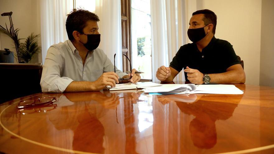 La Diputación invierte 90.000 euros en el apoyo al futbol no profesional y en la promoción del deporte adaptado en la provincia