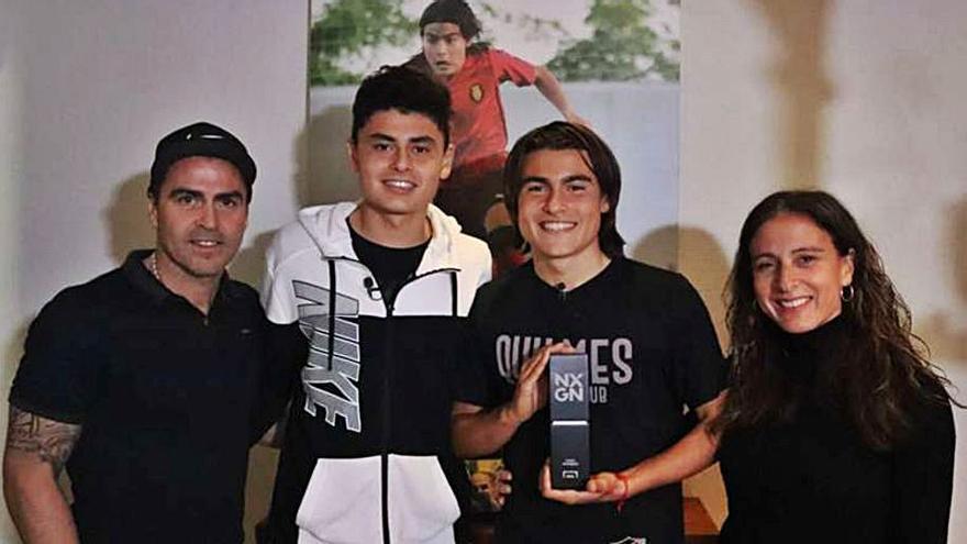 Luka Romero asegura sentirse «cómodo» con la camiseta del Mallorca