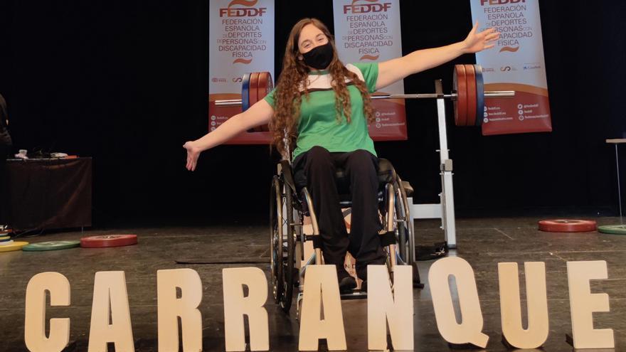 Loida Zabala se cuelga su decimosexta medalla de oro en el nacional