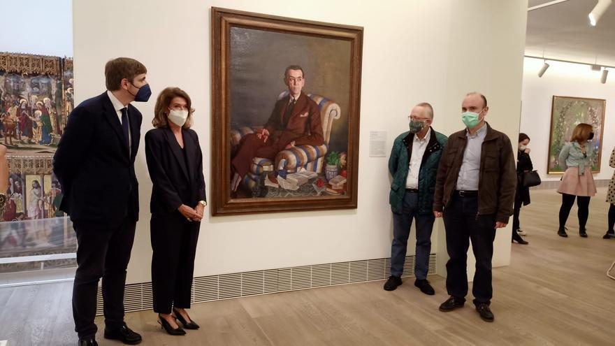 Ramón Pérez de Ayala visita'l Belles Artes de la mano de Zuloaga