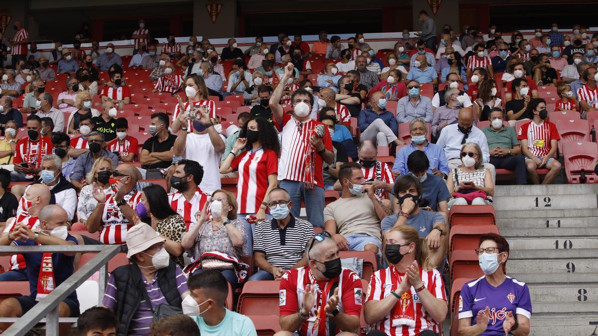 El partido del Sporting, en imágenes