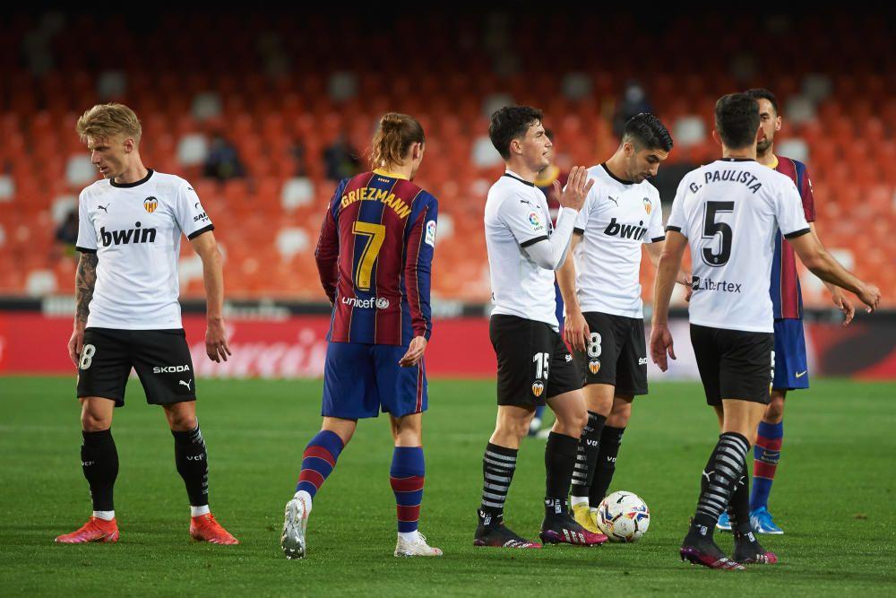 València - Barça, en fotos