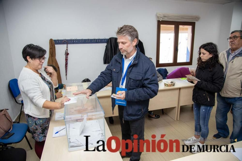 Jornada electoral en la comarca del Noroeste