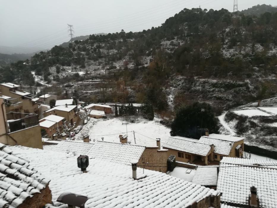 Foto de la nevada a Mura