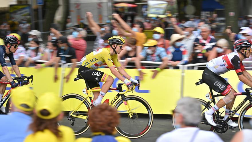 Así está la clasificación general del Tour de Francia tras la etapa 14