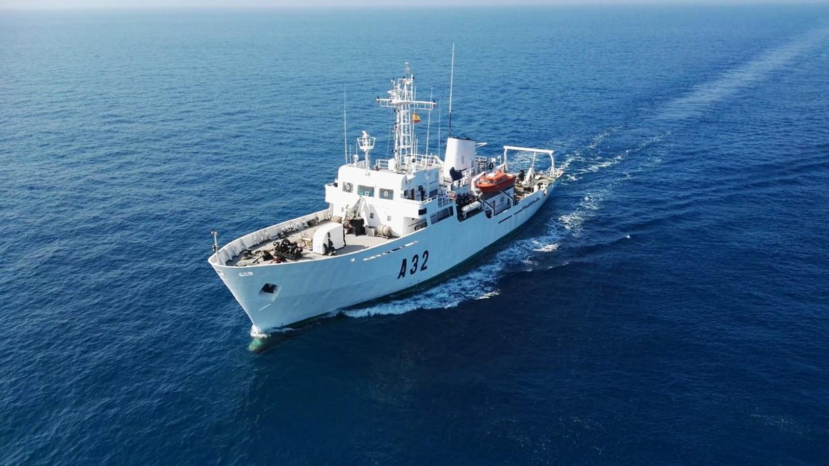 Buque 'Tofiño', de la Armada