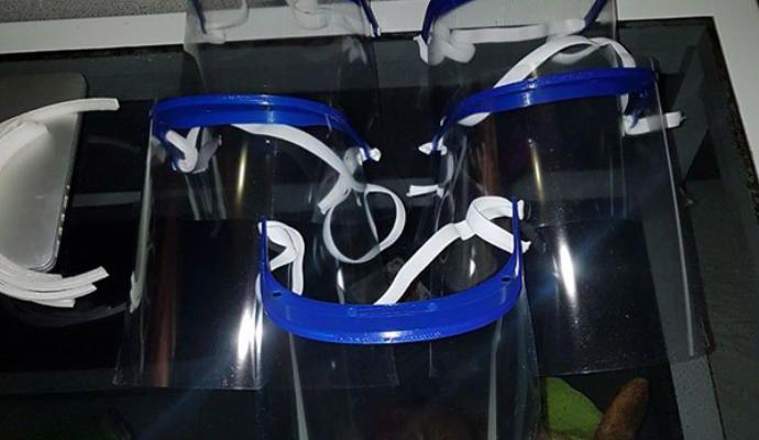 Fabrican en La Palma máscaras por el coronavirus