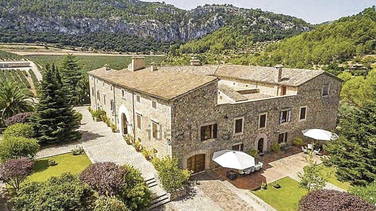 Esta 'possessió' en Puigpunyent, la casa más cara en Mallorca.