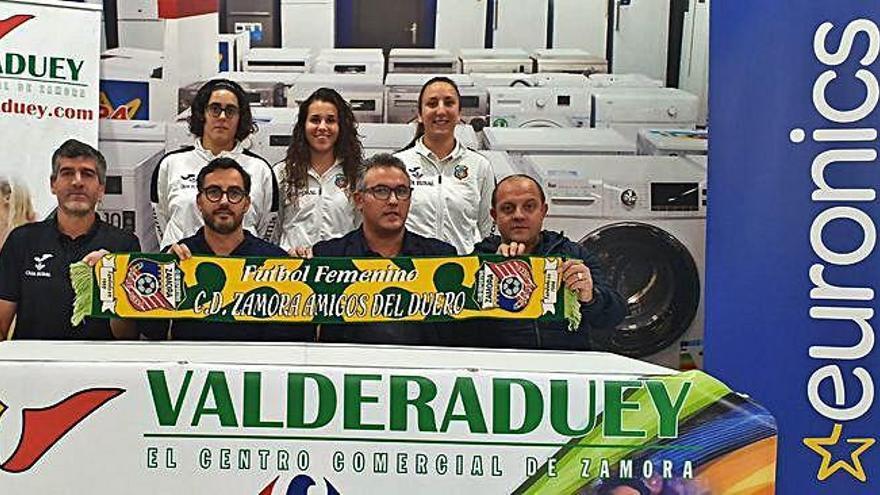 Valderaduey y Eurónics siguen con Amigos del Duero