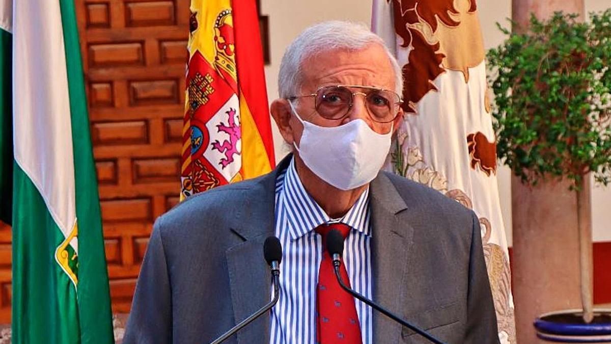 Domingo de Torres, durante la presentación del aval privado para el proyecto.