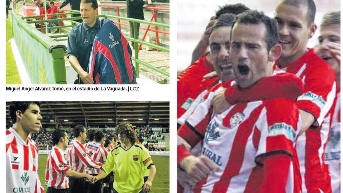 Imágenes de archivo del Zamora CF.