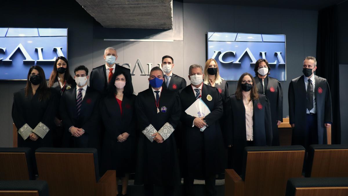 Un momento del acto celebrado en el ICALI.