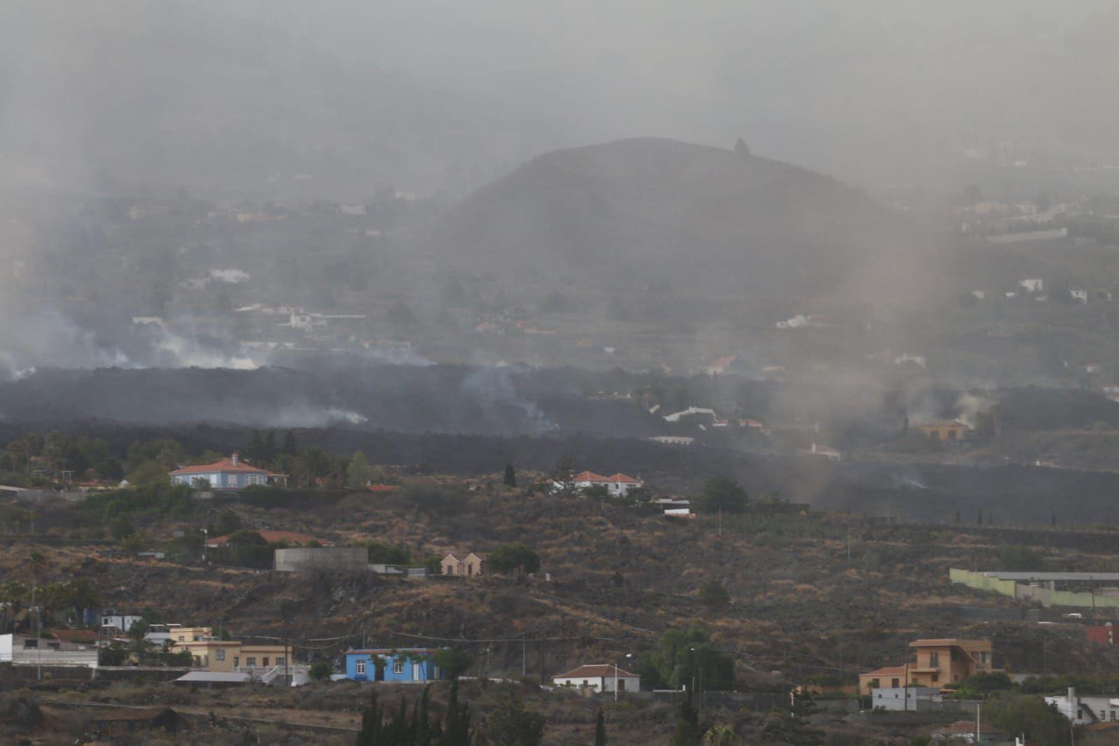 Todoque, el día después de su desalojo por el volcán de La Palma