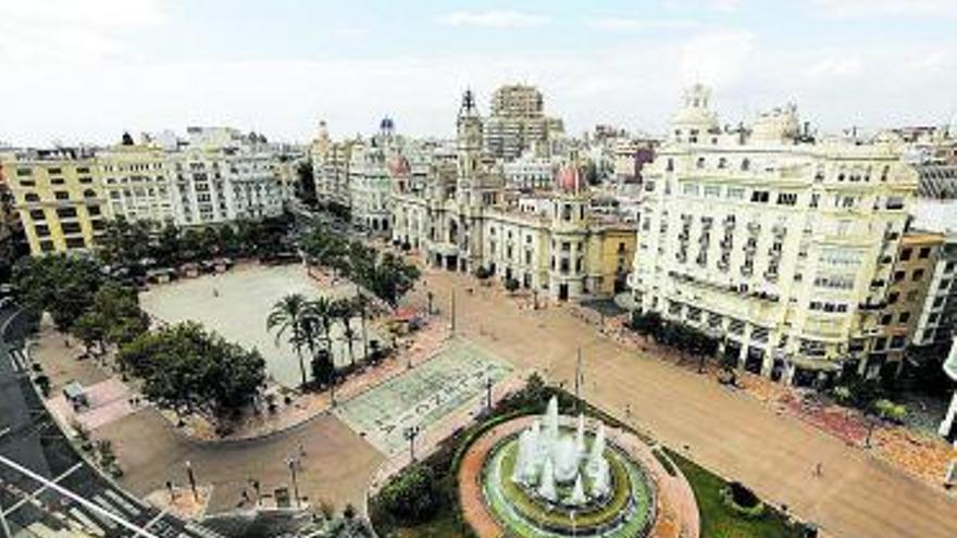 La plaza del ayuntamiento pasa a ser peatonal