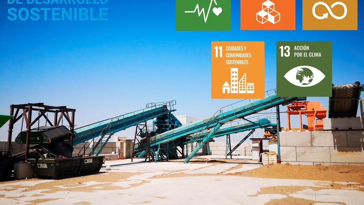 Casalé, empresa aragonesa comprometida con los Objetivos de Desarrollo Sostenible.