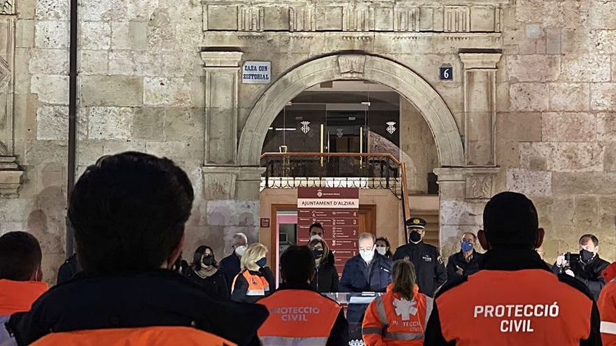 Protección Civil asume en Alzira servicios sanitarios                 que atendía Cruz Roja