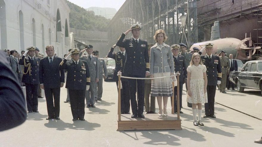 El patrullero Infanta Cristina cumple 40 años al servicio de la Armada en Cartagena