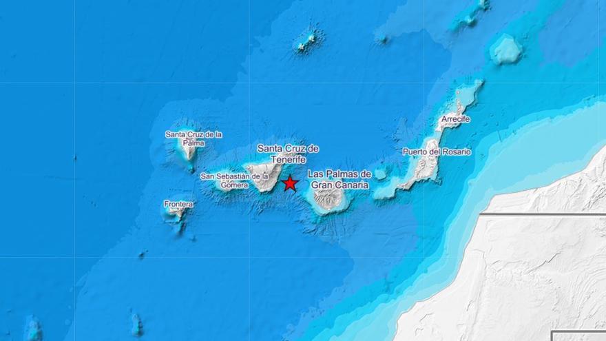 Localizados 158 terremotos en el área de Canarias durante el mes de mayo