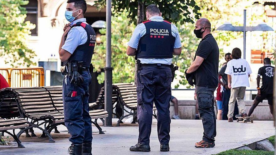 Reactiven el dispositiu policial Tremall contra la delinqüència a Manresa