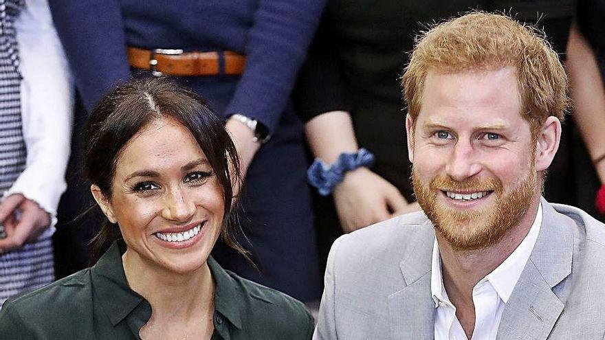 El príncipe Enrique y Meghan Markle fichan por Netflix para crear contenido
