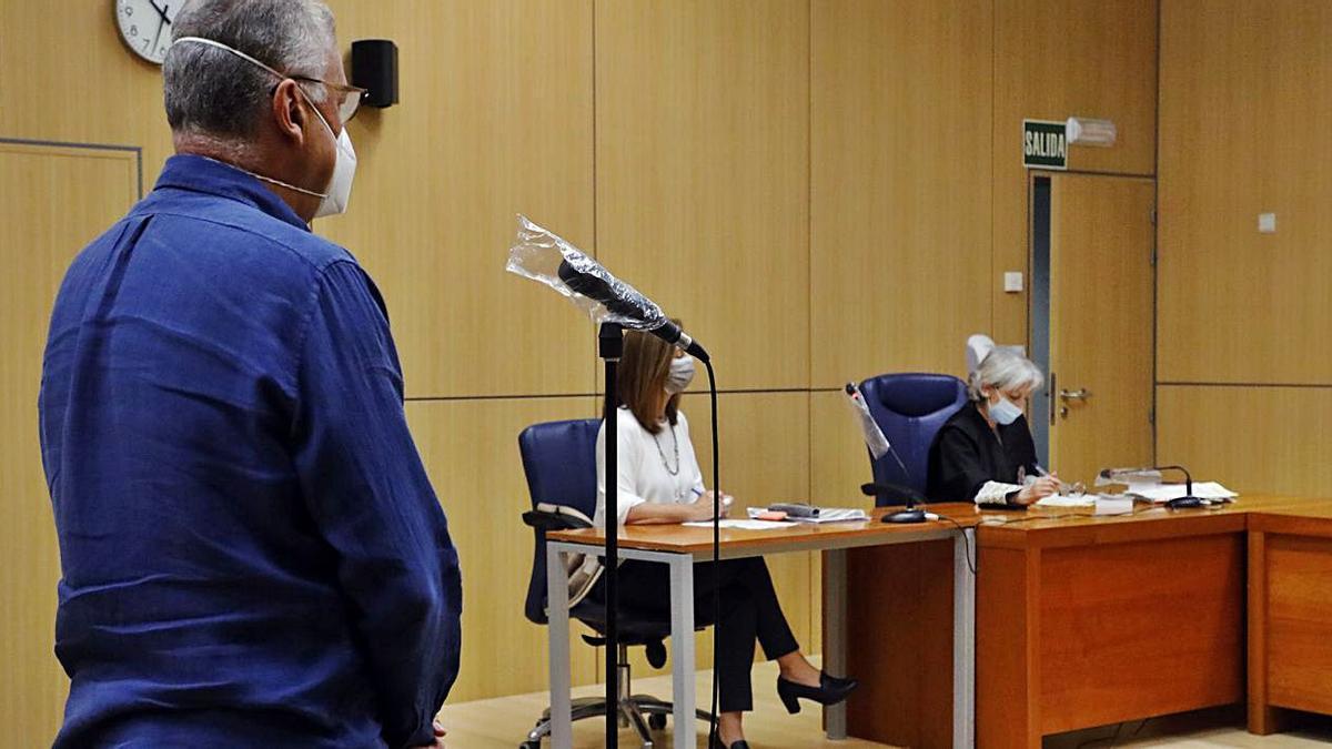 Juan Bautista P.M. va ser jutjat la setmana passada. | M.A.MONTESINOS