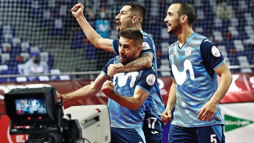 El Inter Movistar de Pola conquista su undécima Copa de España