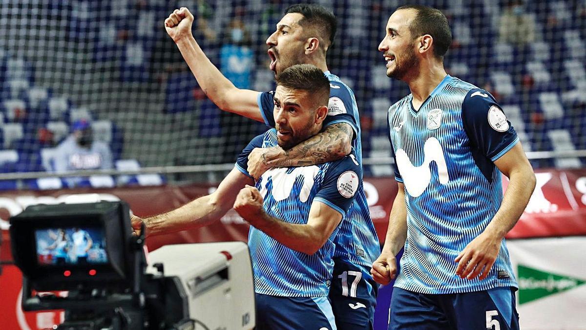 El Inter Movistar de Pola conquista su undécima Copa de España | FDV