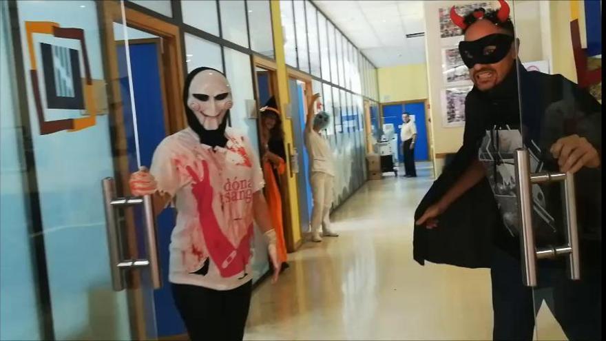 'Mannequin challenge' de Halloween para subir las reservas de sangre