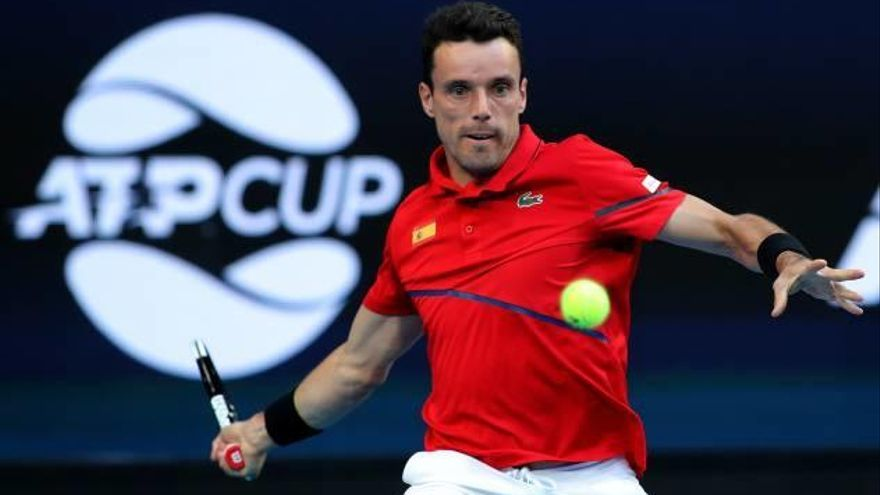 Bautista y Nadal lanzan  a España en la ATP Cup