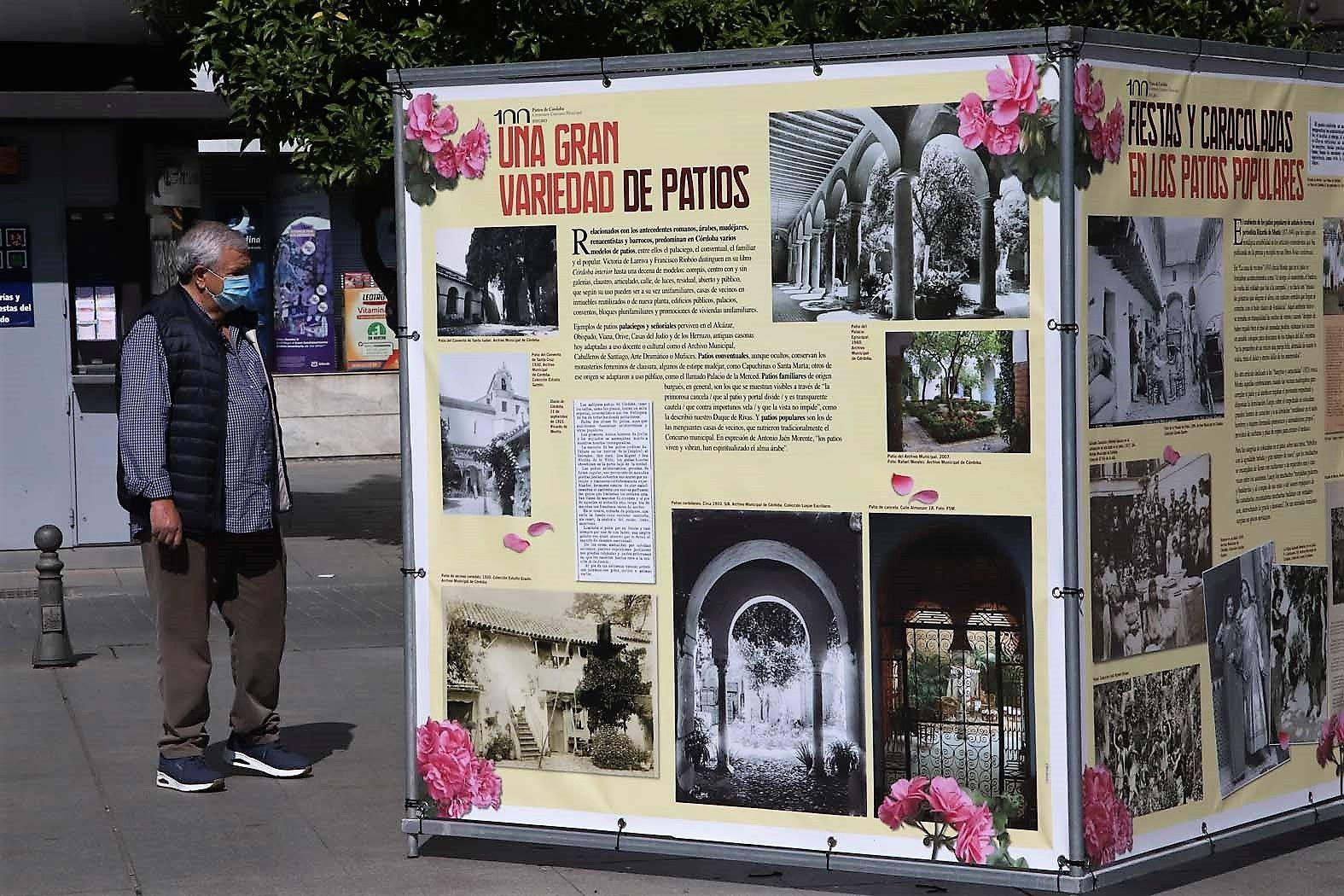 Exposición 100 años de patios en Las Tendillas