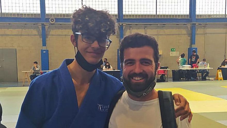 El judoka Àngel Fernández, a les portes del bronze a la Copa Catalunya