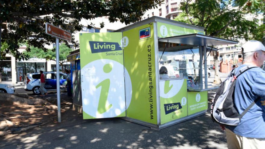 Prohíben vender productos turísticos al kiosco del CIT de la plaza de la Alameda