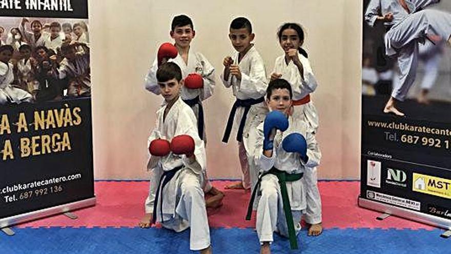 El gimnàs Cantero, present als catalans de karate